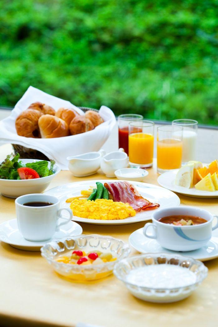 南魚沼じょんのび朝食、和洋バイキング