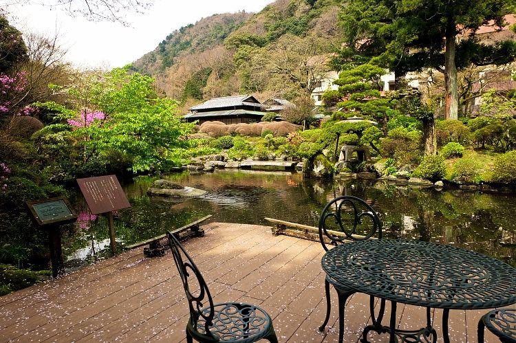 箱根湯本温泉に約一万坪の庭園!吉池旅館は美食と自家源泉の名宿