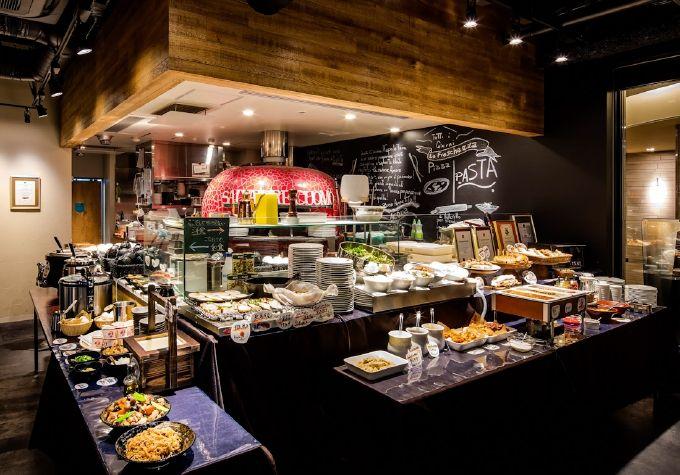 レストランはイタリアンの名店!朝食は和洋バイキング