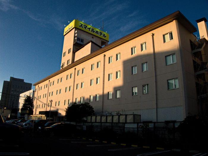 利便性抜群のスマイルホテル八戸