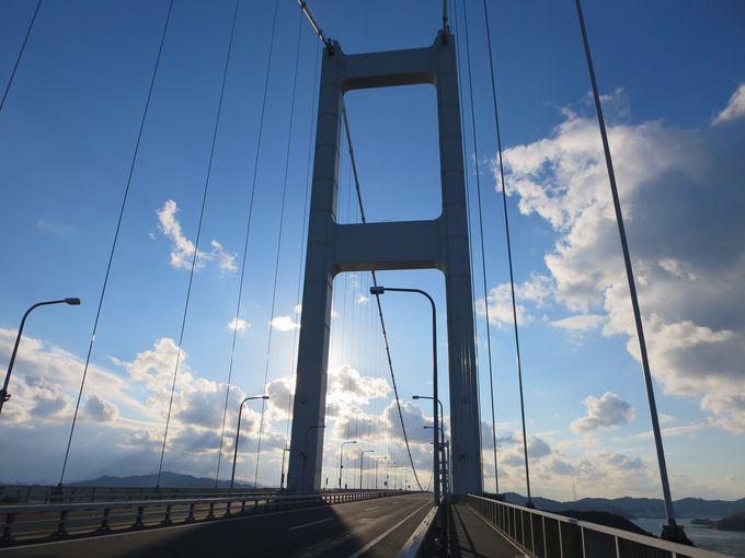 来島海峡大橋を渡る!