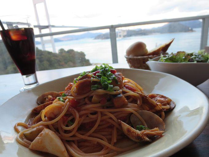 サンライズ糸山に併設された「風のレストラン」へ。