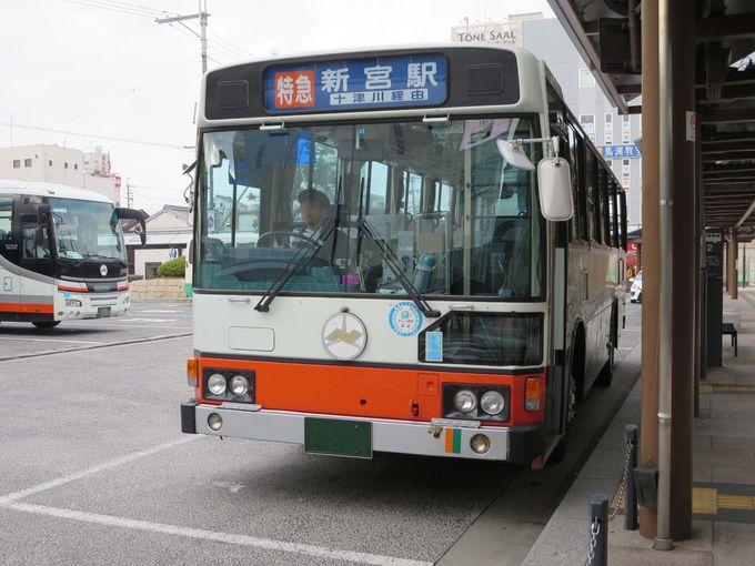 まずは「168バスハイク乗車券」を購入。