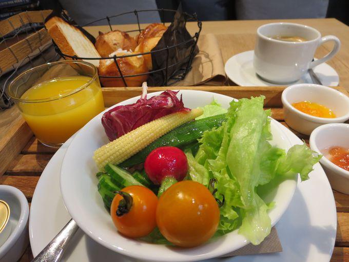 朝食は2パターン。
