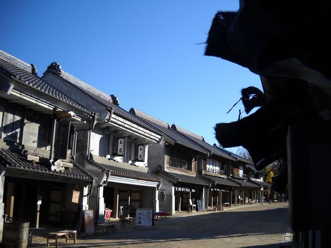 東日本一の大杉に圧倒にされる「麻賀多神社」と、江戸の町並を再現した「房総のむら」