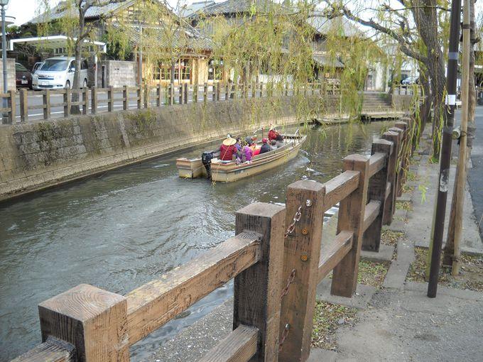 小野川の舟めぐり