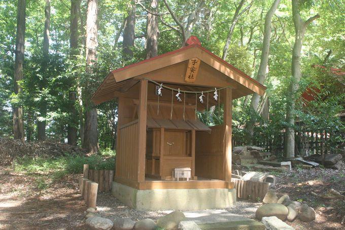 伊勢の神宮にある「子安神社」の摂社とされる「子安社」