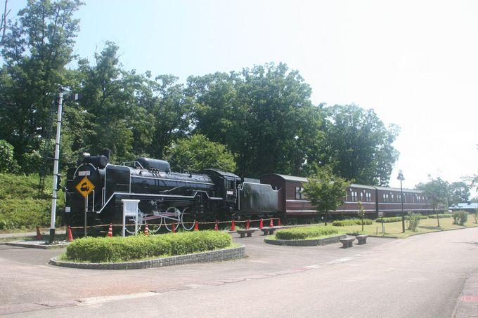 SL客車に宿泊できる!滑川「東福寺野自然公園」