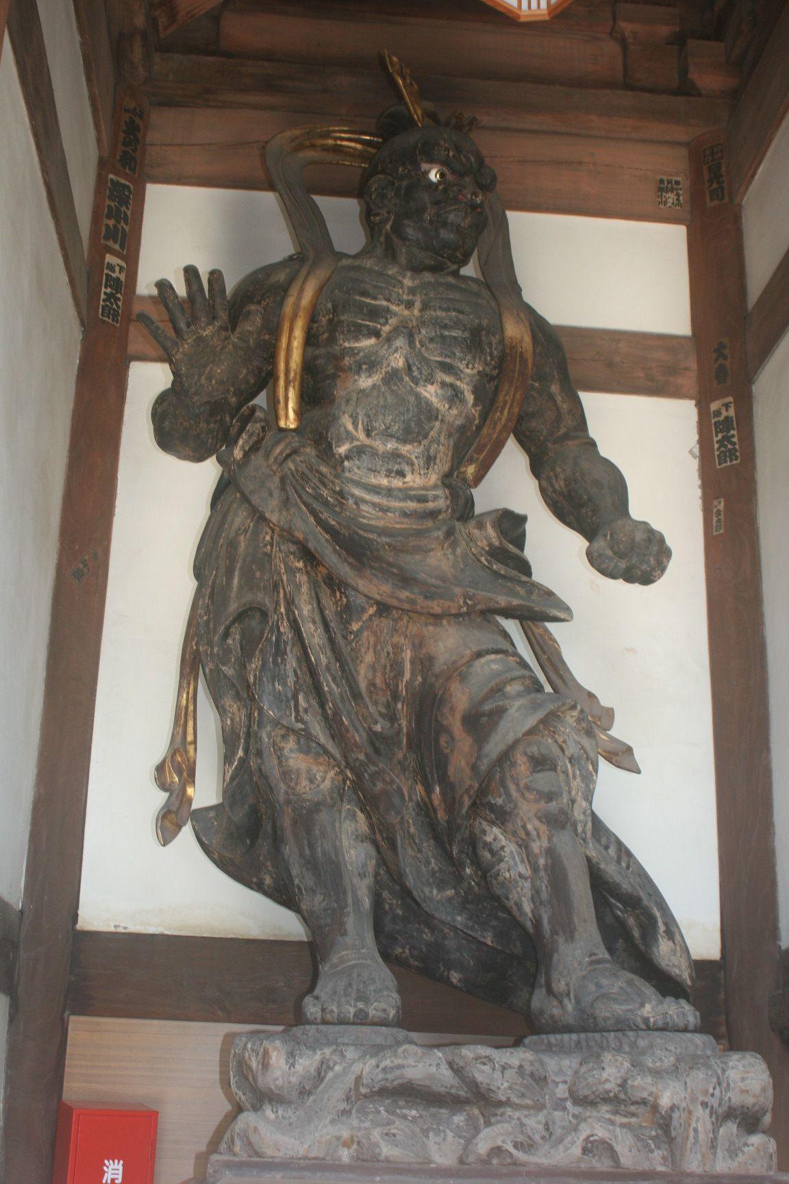「仁王門(慈雲閣)」の阿(あ)像
