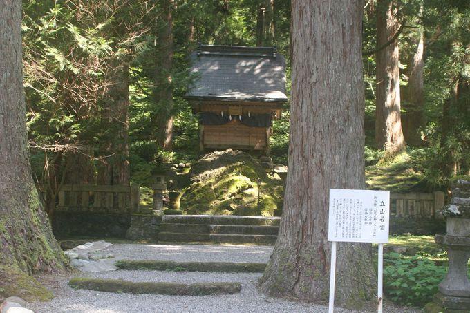東本殿「立山若宮」は、映画「劒岳 点の記」の舞台