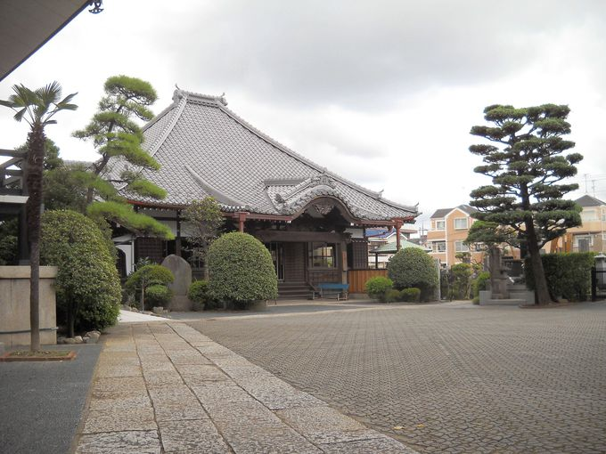 八幡山・来迎院「上品寺」の本堂