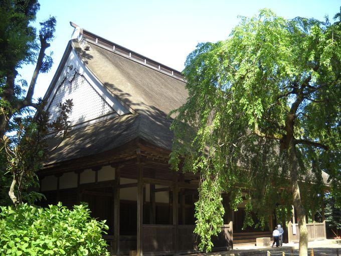 壇林の中心「講堂」も国指定重要文化財