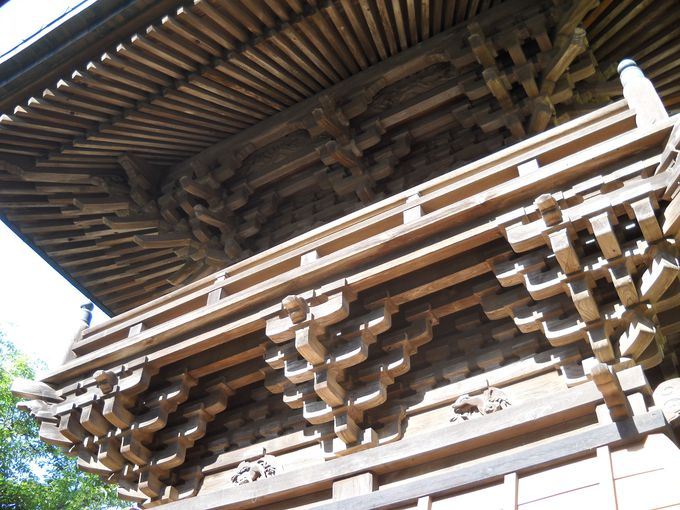 「鐘楼」は多古町指定有形文化財