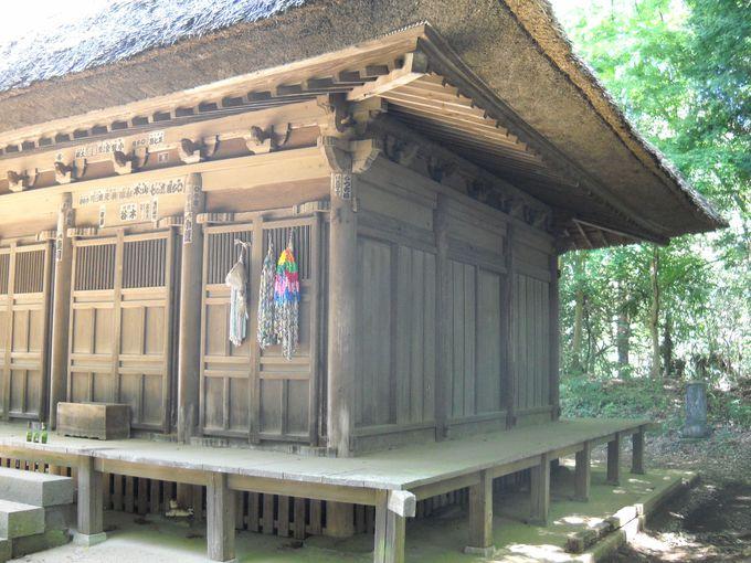 国指定重要文化財「宝珠院観音堂」