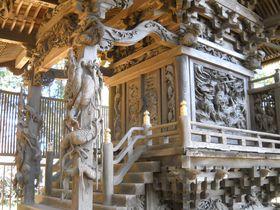 本殿は彫刻芸術作品テンコ盛り!千葉・我孫子「葺不合神社」|千葉県|トラベルjp<たびねす>