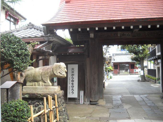 当寺院は、「池上本門寺」の末寺である
