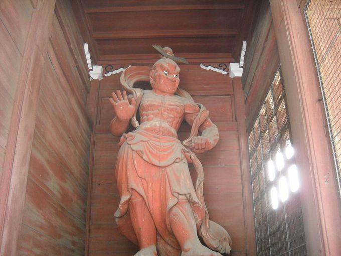 仁王門と阿吽像