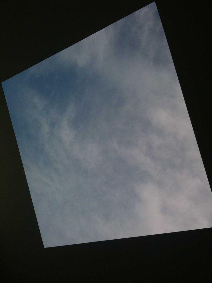 うつりゆく空の情景に時間を忘れる