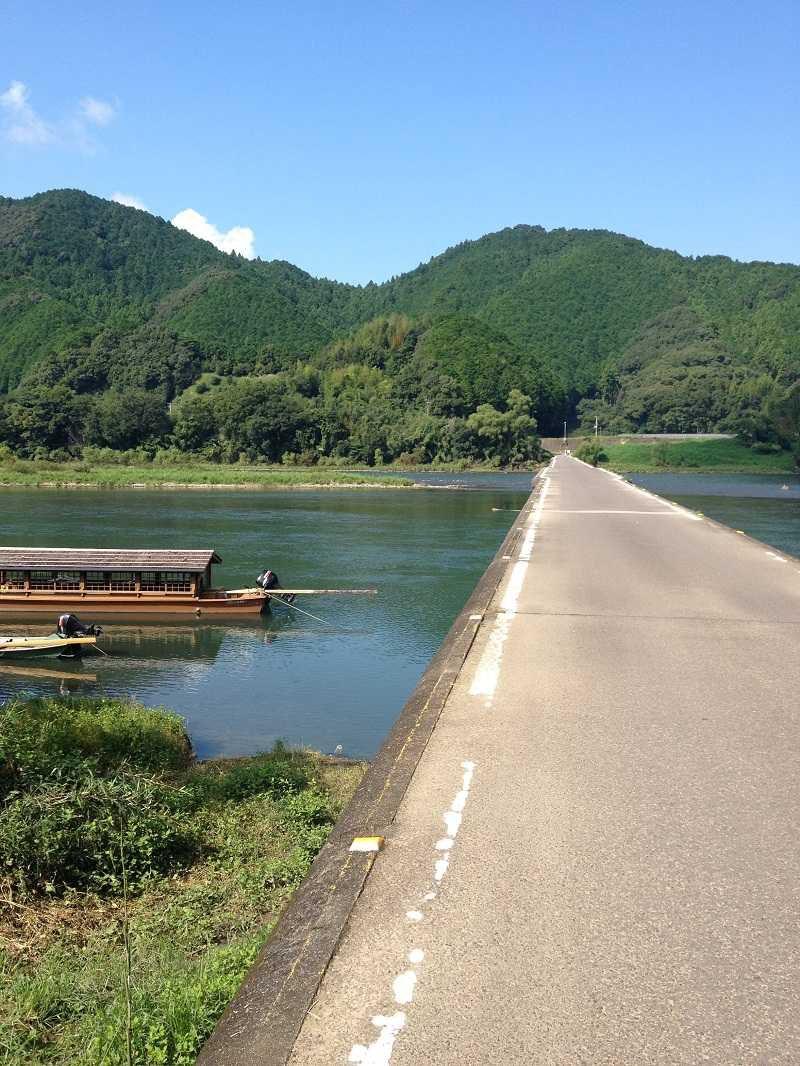 沈下橋を見に行く 四万十川爽快サイクリング
