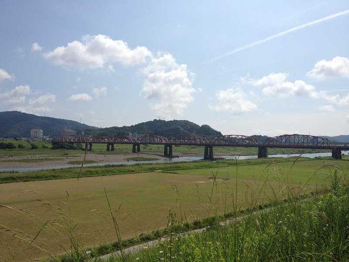 日本の橋百選「赤鉄橋」