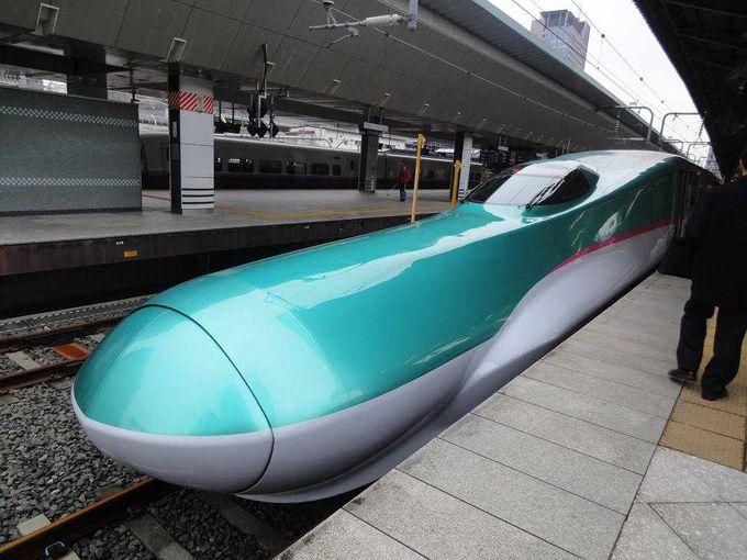 最速のE5系新幹線で行こう