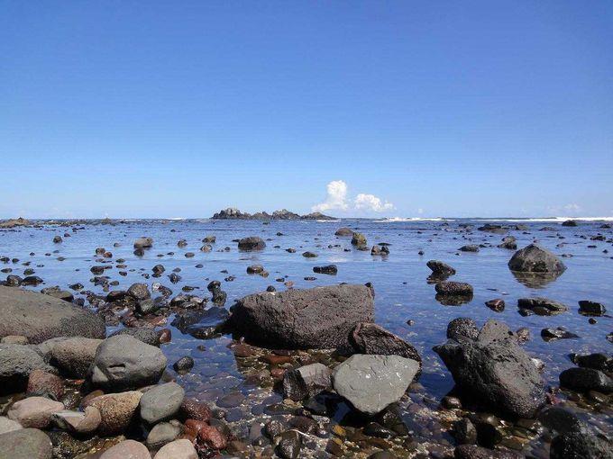 穏やかな海の休日