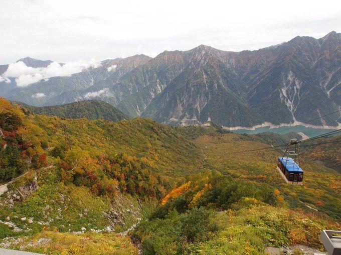 立山ロープウェイ(黒部平→大観峰)
