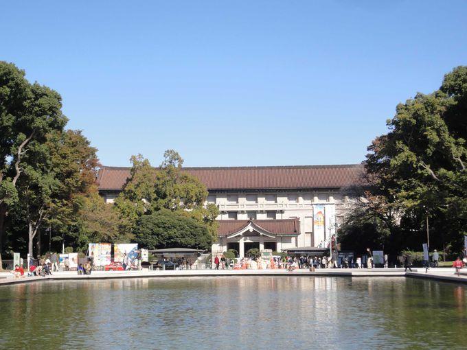 世界遺産登録のあの建物も!上野公園「ミュージアム」巡り