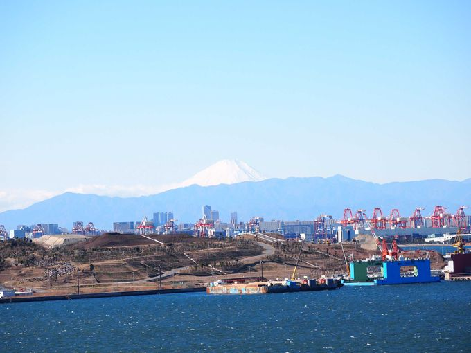 富士山を見るなら、冬がおすすめ