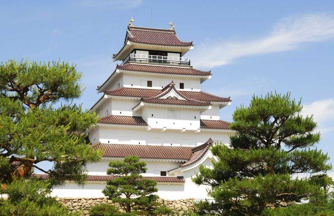日本100名城のひとつ!大河ドラマの舞台「鶴ヶ城」