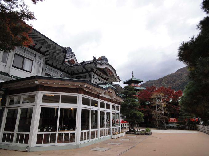 伝統と格式の富士屋ホテル