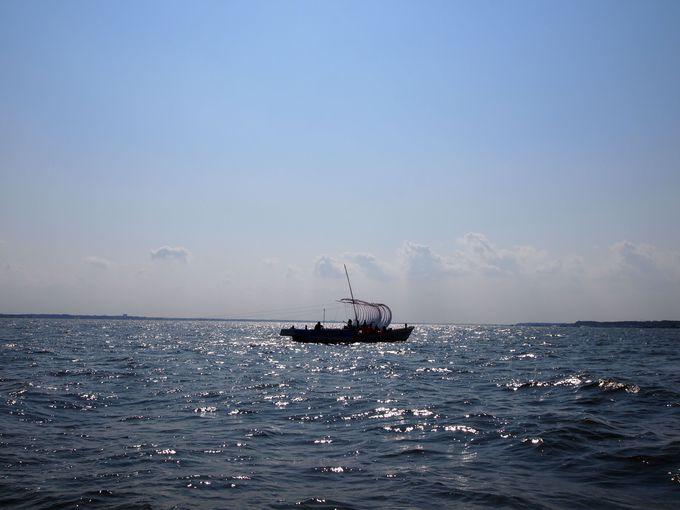 漁業を変えた帆引き船発祥の地