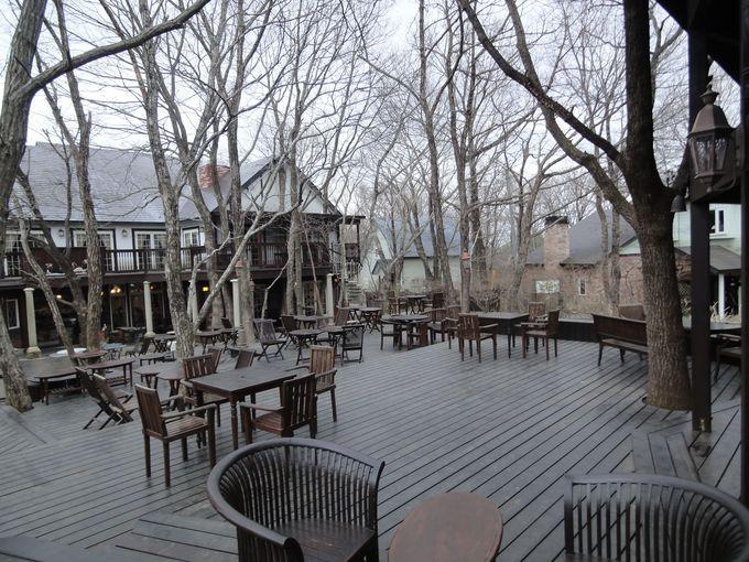森に溶け込むカフェ「PENNY LAINE(ペニーレイン)」
