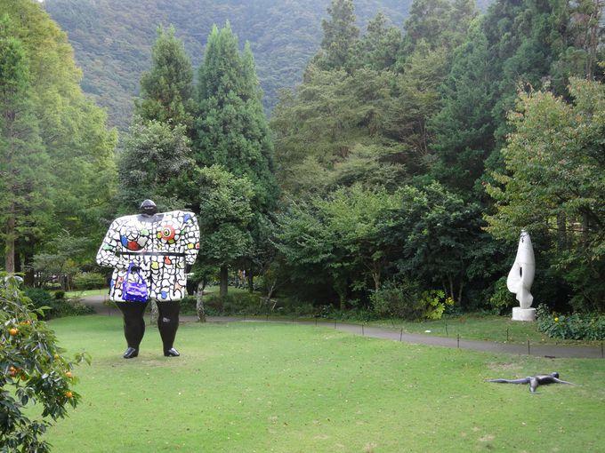 日本初の野外美術館として開館!!
