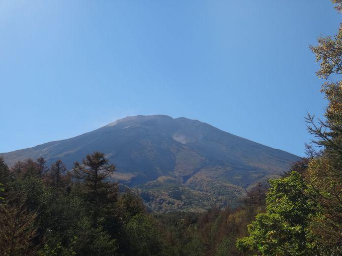 奥宮までは、富士山を拝みながら進みます