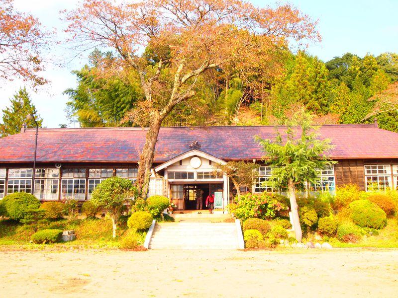 あったかくて懐かしい茨城県大子町のノスタルジックな木造校舎めぐり