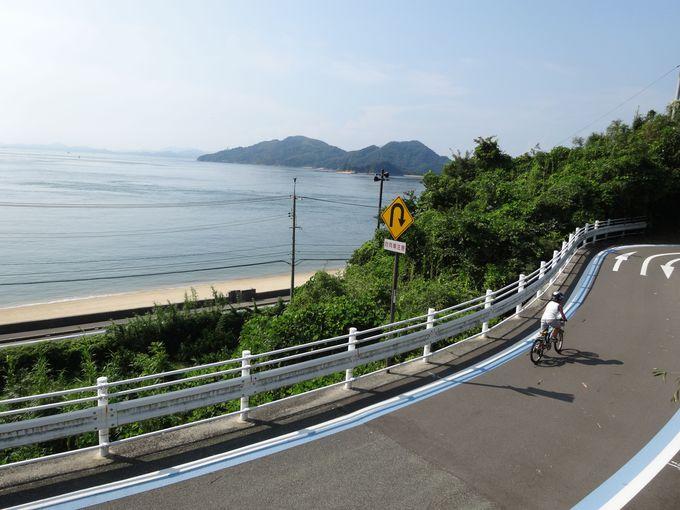 今治市から尾道市までの全長約70kmはどんなコース?