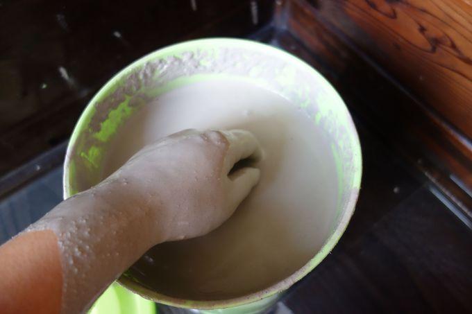 塩原温泉でココだけ!!成分たっぷり含んだ湯泥