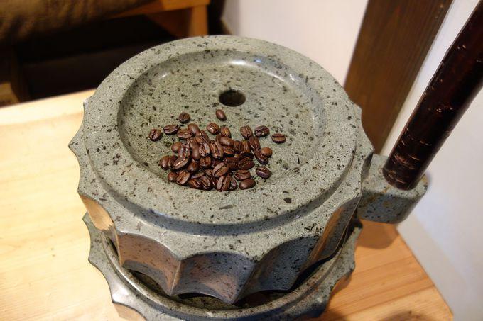 コーヒーアロマを存分に楽しむカフェ・那須高原「かんなびと」
