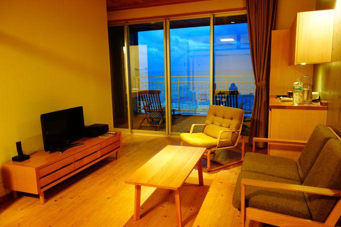 全8室の海辺の宿 全室海を眺めるテラス付き
