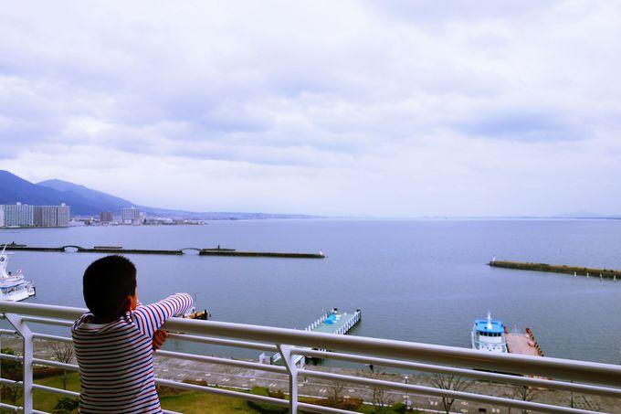 琵琶湖の広大さを実感!!開放的な全室ベランダ付レイクビュー