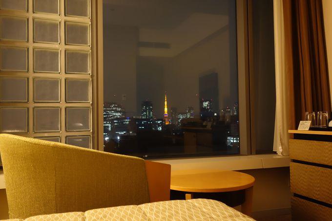 午前0時の東京タワー消灯を見守りたくなる客室