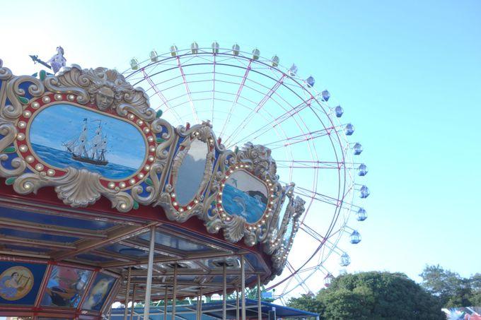遊園地にジャブジャブ池も!!丸1日遊べる「国営ひたち海浜公園」