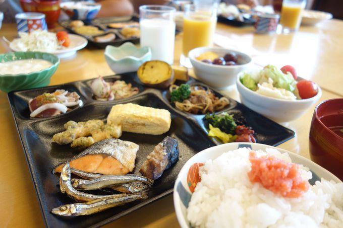 朝からごはんがすすむ!!九州のうまかもんが揃う朝食