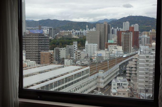 山陽新幹線口すぐ!!好ロケーションの「ホテルグランヴィア広島」