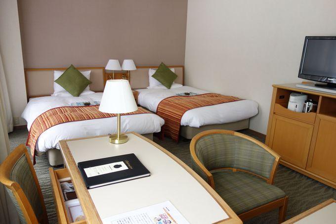 リゾートホテルならではのゆったり寛げる空間