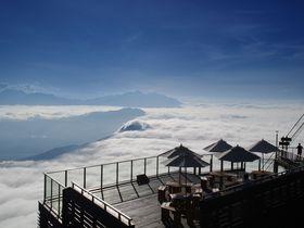 雲海発生率67%!長野「SORA terrace(ソラテラス)」で空中さんぽ
