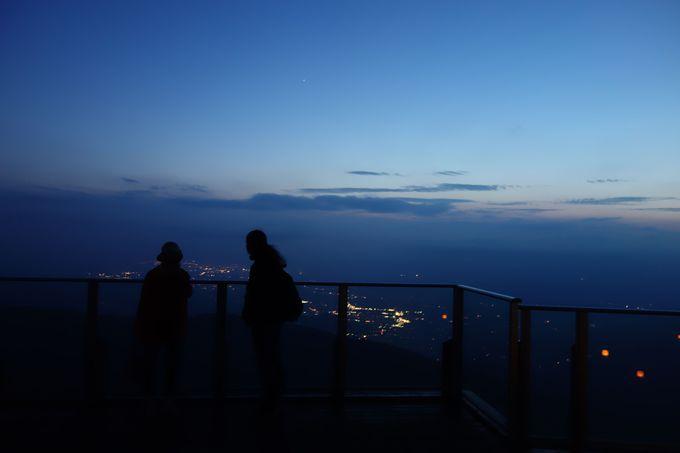 おすすめは雲海+サンセット+星空の3点セット観賞!!