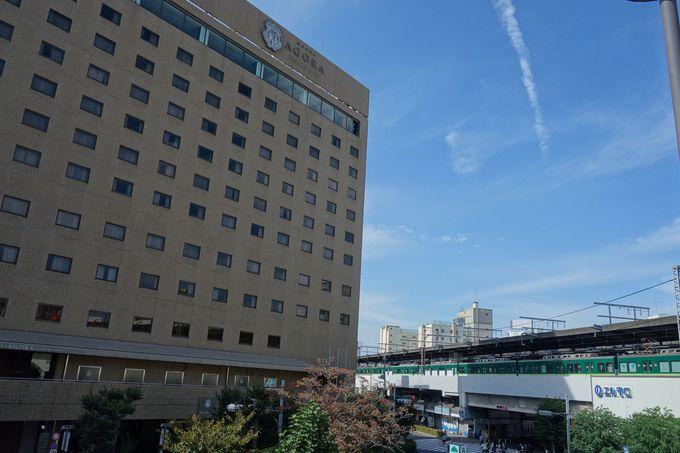 大阪の中心部から意外と近い「ホテル・アゴーラ大阪守口」