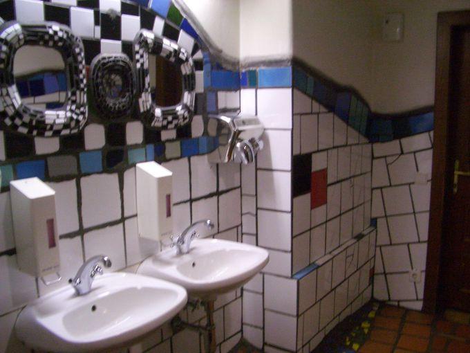 トイレもアート!